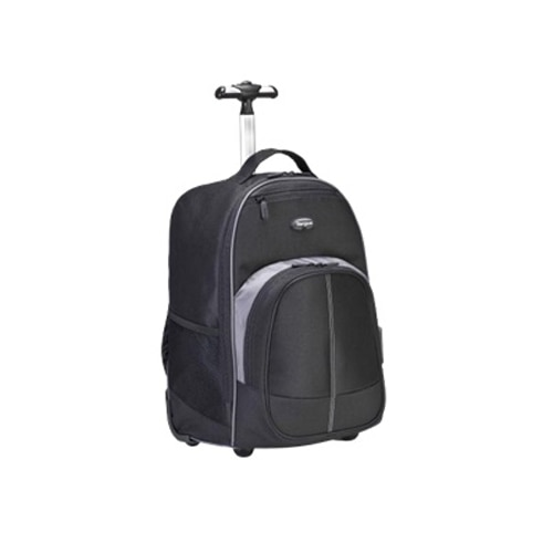 Targus Compact Rolling Backpack - Carrying backpack - 16-inch ...