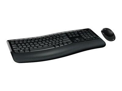 Microsoft Corporation Microsoft Wireless Comfort Desktop 5050 Keyboard and mouse set wireless 2.4 GHz English North American layout PP4 00001