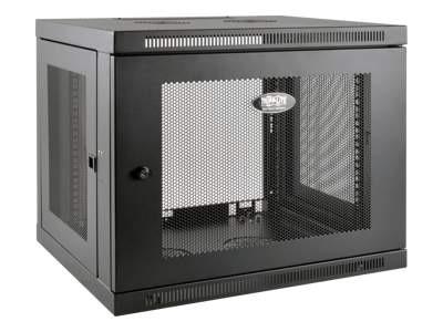 Tripplite Tripp Lite 9U Wall Mount Rack Enclosure Server Cabinet Low Profile Deep Rack enclosure cabinet black 9U 19 inch SRW9UDP