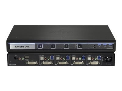Avocent Corporation 4 port Avocent SV240 KVM switch USB 4 x KVM port s 1 local user desktop SV240 001