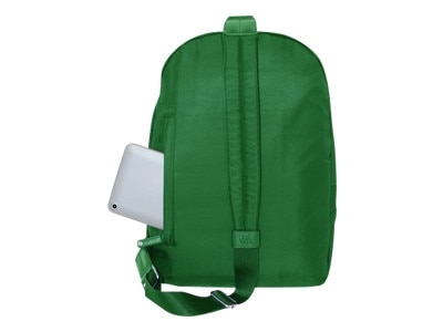 Women in Business Miami City Slim Cross Body Backpack - Green, 14inch