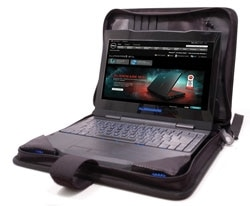 Orion Portfolio Case for M11x from Alienware Product Shot