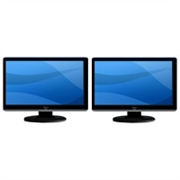 "2-Pack 24"" LED Monitor"