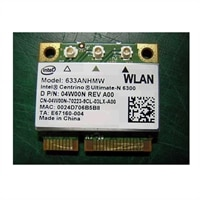 Dell Dell WiFi Link 6300 Wireless-N Half Mini-Card for Select Dell Alienware / Inspiron / Latitude / Studio Laptops / Precision Mobile WorkStations