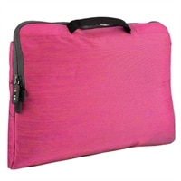 Dell Daily Deal 5dot Connect Variegated Sleeve - Fits Laptop with Screen Sizes Up to 15.6-inch - Pink