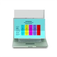 3M PF12.1W LAPTOP/LCD PRIVACY F PRIVACY FILTER FOR WIDESCREEN NB