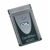 HID OMNIKEY 4040 Mobile PCMCIA Smart Card Reader - TAA Compliant