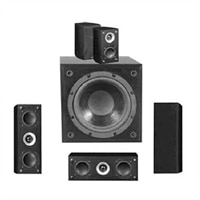 Pinnacle Speakers MB8000 5.1ch 350W MicroBurst Home Theater System