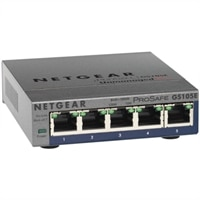 Netgear 5-Port GS105E ProSafe Plus Gigabit Ethernet Switch