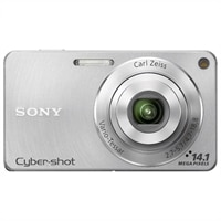 SONY CORPORATION Cyber-shot DSC-W350 Silver 14.1 MP 4X Zoom Digital Camera : Camera, Photo & Video | Dell