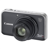 A3525049 Canon PowerShot SX210 IS 14MP Point & Shoot Digital Camera (Black)   $280