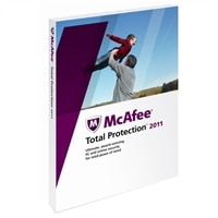 TODAY ONLY McAfee Total Protection 2011 Software (3-User)