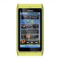 "Nokia N8 3G Unlocked GSM Smart Phone with 12MP Camera and 3.5"" OLED Screen (green) $329.99"