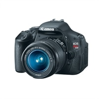 Discount Electronics On Sale Canon Canon EOS Rebel T3i 18 MP SLR Camera with EF-S 18-55mm IS lens