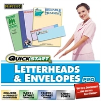 MPS/Selectsoft Download - Selectsoft Quickstart: Letterheads and Envelopes Pro