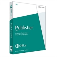 Microsoft Corporation Microsoft Corporation Microsoft Publisher 2013 - License - 1 PC - Spanish