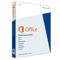 Microsoft Corporation Microsoft Corporation  Microsoft Office Professional 2013 - License - 1 PC - Windows 32/64-bit - Spanish