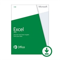Microsoft Corporation Microsoft Corporation Download - Microsoft Excel 2013 1 PC - Consumer Only