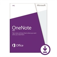 Microsoft Corporation Microsoft Corporation Download - Microsoft OneNote 2013 - License - 1 PC - Business Only