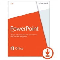 Microsoft Corporation Microsoft Corporation Download - Microsoft PowerPoint 2013 1 PC - Consumer Only