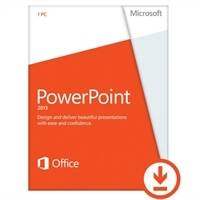 Microsoft Corporation Microsoft Corporation Download - Microsoft PowerPoint 2013 1 PC - Business Only