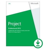 Microsoft Corporation Microsoft Corporation Download - Microsoft Project Standard Professional 2013 1PC