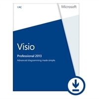Microsoft Corporation Microsoft Corporation Download - Microsoft Visio Professional 2013 1PC