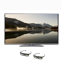SHARP Sharp 70-inch Smart LED TV- LC-70LE857U Aquos 3D HDTV with 2 pair of 3D Glasses