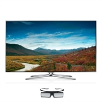 Samsung Samsung 55-inch LED Smart TV - UN55F7100 3D HDTV with 4 Pairs of 3D Active Glasses