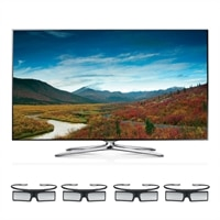 Samsung Samsung 65-inch LED Smart TV - UN65F7100 3D HDTV with 4 Pairs of 3D Active glasses