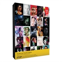Adobe Systems Adobe Systems Download - Adobe CS6 Master Collection Student and Teacher Edition - WIN