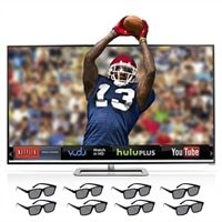 Vizio Vizio 60-inch Razor LED Smart TV - M601D-A3R M-Series 3D HDTV with 8 Pairs of 3D Glasses