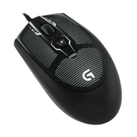 Logitech Logitech G100s Optical Gaming Mouse - 4 Buttons Wired - USB - Black