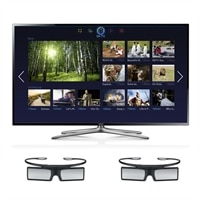 Samsung Samsung 50-inch LED Smart TV - UN50F6400 3D HDTV with 2 Pairs of 3D Active Glasses