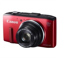 Canon Canon PowerShot SX280 HS Wi-Fi Compact Digital - 12.1 MP Camera - Red
