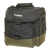 Canon Canon Gadget Bag 10EG Deluxe - Semi - Hard Case For Camera - Nylon -Black/Green