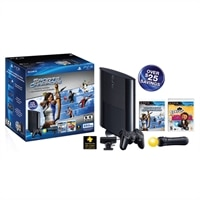 PlayStation PlayStation 250GB Hardware PS3 System Bundle With Sports Champions And EyePet - PS Move Motion controller And PS Eye camera