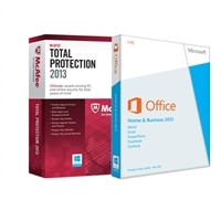Microsoft Corporation McAfee Total Protection 1 U 2013 with Microsoft Office Home and Business 2013 1PC