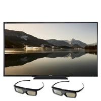 SHARP Sharp 90-inch LCD Smart TV - LC90LE657U Aquos LED-Backlit 3D HDTV with 2 Pairs of 3D Glasses