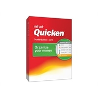 Intuit Quicken Starter Edition 2014 - Complete package - 1 user - CD - Win
