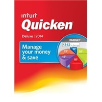 Intuit Quicken Deluxe 2014 - License and media - 1 user - OEM - CD - Win