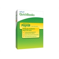 Intuit QuickBooks Payroll Enhanced 2014 - Subscription package ( 1 year ) - 1 user - Win