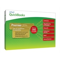 Intuit QuickBooks Premier Industry Editions 2014 - Complete package - 1 user - CD - Win