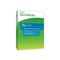 Intuit QuickBooks Pro 2014 - Complete package - 1 user - CD - Win