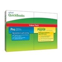 Intuit QuickBooks Pro 2014 - Complete package - 1 user - CD - Win - with Enhanced Payroll 2014