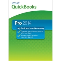 Intuit QuickBooks Pro 2014 - License and media - 1 user - OEM - CD - Win