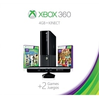 Microsoft Corporation Microsoft Xbox 360 4GB with Kinect Holiday Value Bundle - Includes Kinect Sports Season Two & Kinect Adventures