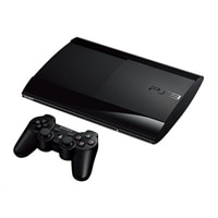 SONY ENTERTAINMENT PS3 - Game console - 12 GB flash - charcoal black