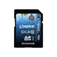 Kingston Kingston Elite - Flash memory card - 32 GB - UHS Class 1 / Class10 - SDHC UHS-I