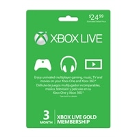Microsoft Corporation Microsoft Xbox Live Gold Card - 3 months